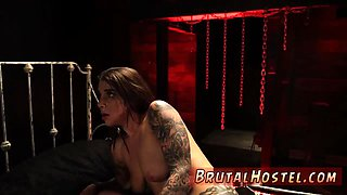 Bondage machine trainer first time Excited youthful tourists Felicity Feline and Jade
