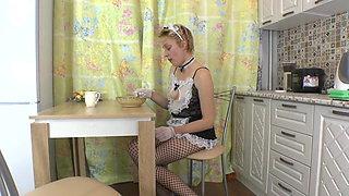 Mature & ilf in the kitchen