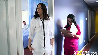 Chanel Preston And Veruca James Her Nurse A Cock