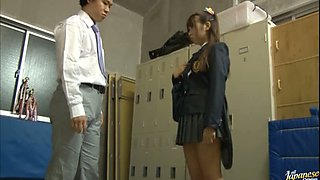 Super Hot Japanese School Fuck!