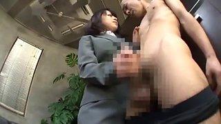 Best Japanese girl Chika Arimura, Misa Takada, Ran Kayama in Fabulous Foot Fetish, Secretary JAV clip