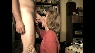 Amateur milf loves to suck cock and swallow