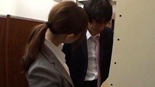 Horny Japanese model Mai Henmi, Ellis Nakayama, Erika Kashiwagi in Fabulous Public JAV movie