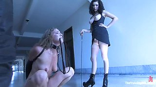 Mistress and master want Jade to feel sore