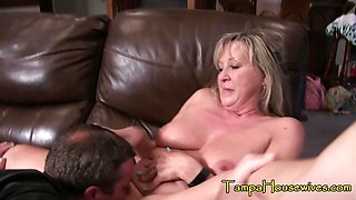 Kinky Mommy/Son at Work and at Home