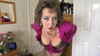 Naughty British MILF sucking Dick in POV