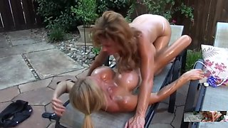 the best way to oiled big tits is with oiled big boobs