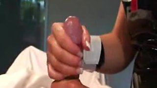 Emo film with nurse who does handjob and collects sperm