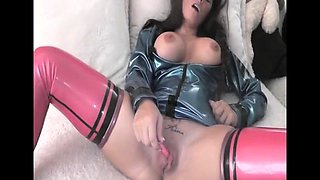 Big boobs brunette babe fucked by a muscle dude