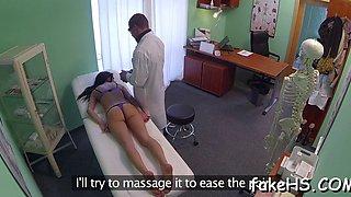 doctor's pussy endures hammering