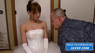 Fucking a hot asian teen bride to be