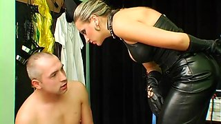 hottie spanked and licked bdsm clip 1