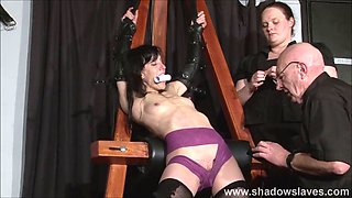 extreme graves elise slave tit troubled and electro punishe