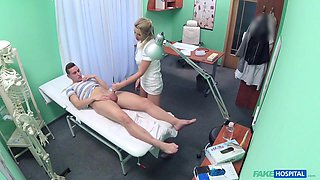 Bianca in New doctor gets horny milf naked and wet with desire - FakeHospital