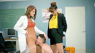 School Nurses Treat Students Dick