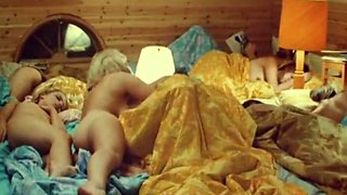Nasty vintage Swedish teen groupsex with lovely blonde girls