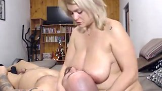 Webcam couple Breatfeeding, drink Mommy's Milk
