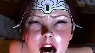 3d Bride of the Globin Hentai Pt2