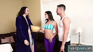 ashley adams fucking her workout instructors huge cock