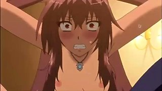 hot anime sister with big tits tied and fucked