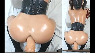 Amateur Asian Compilation with big dildo - Beautiful Babes
