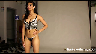 Indian Sexy Stripper Babe Shanaya Nude Photo Shoot