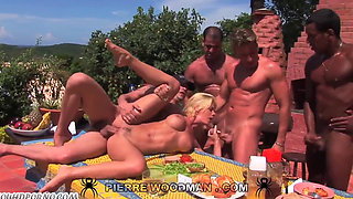 XY hubby and friends gangbag his drunken wife HD