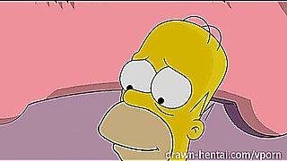 Simpsons Porn - Homer fucks Marge