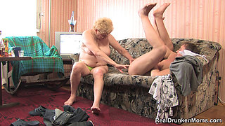 Drunk Russian Granny - Toma - Part 1