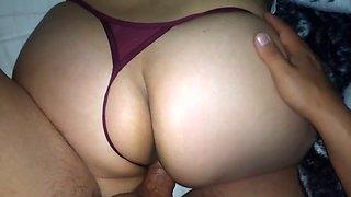 Ck very hot thong!! my sister&#039s big ass!!