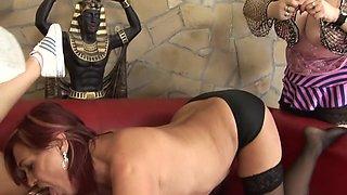 Incredible pornstar in best lingerie, redhead adult scene