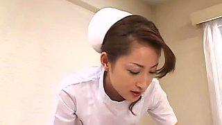Best Japanese slut Reina Kato in Amazing Nurse, POV JAV movie