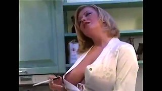 The sort of whore that would make a good wife and she loves her big boobs