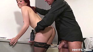 Natalie Hot in Young German Secretary Intern - MMVFilms