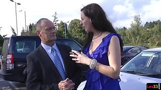Uk milf nurse seduces lucky british senior
