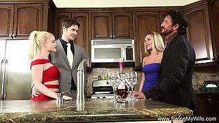 blonde swinger cheating wife