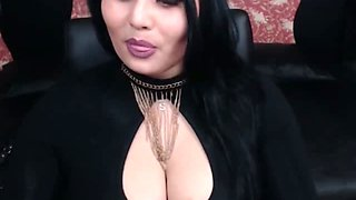 This sultry lady has juicy mouth watering boobs and she is so naughty