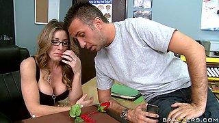 Naughty Teacher Gets Horny