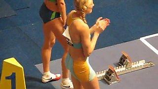 Sports actress Carolina Kluft