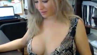 Masturbation in the office