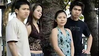 Thai hotties getting screwed in a full porn video