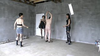 Female Czech domination merciless whipping part 1
