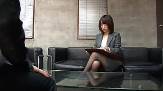 Incredible Japanese slut Nozomi Hara in Fabulous Femdom, Creampie/Nakadashi JAV movie