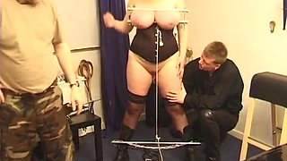 Punishment for BBW slave