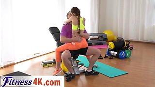 fitness coach banging hot teen