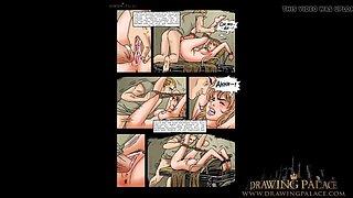 Extreme cartoon porn rough fuck and suck