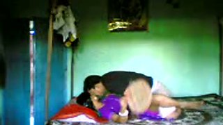 Indian man has really quick sex with his housewife