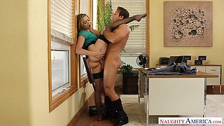 Mia Malkova & Chad White in Naughty Office