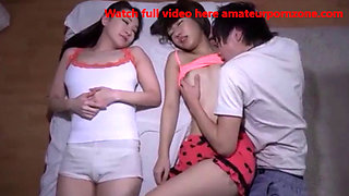Asian girl fucked while sleeping