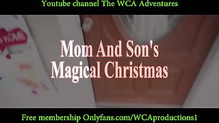 Mom and Son's Magical Christmas